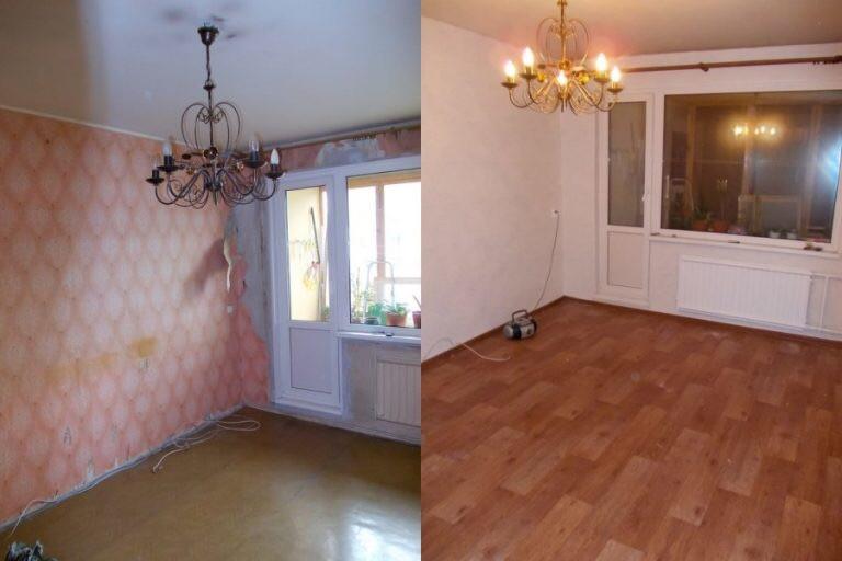 женщине смотреть фото до и после ремонта квартир означает название