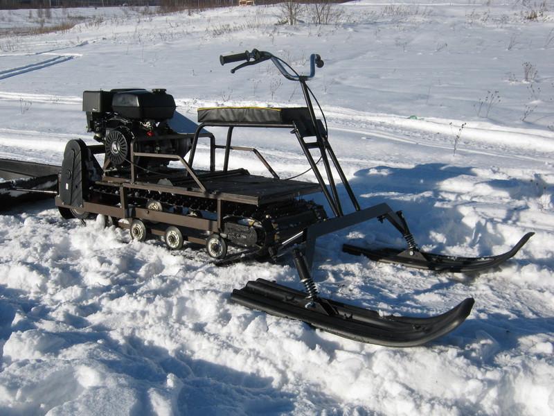 лыжный модуль для мотобуксировщика фото пью