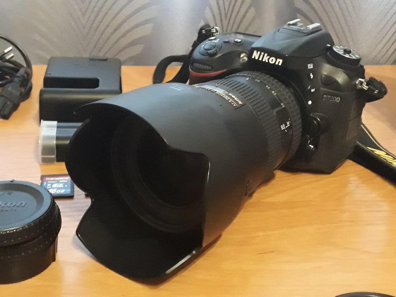 набор для репортажного фотографа