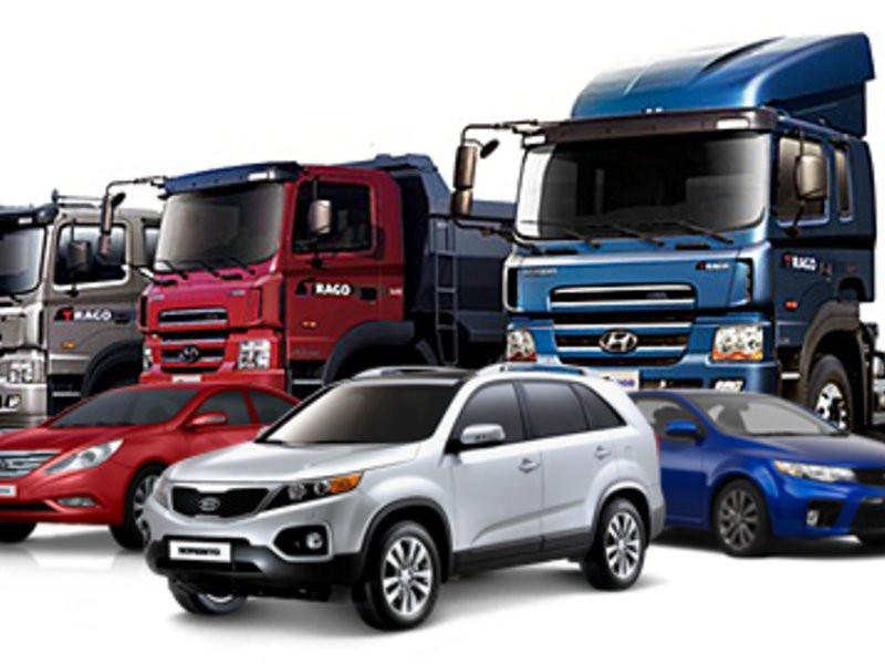 картинка легковых и грузовых машин р-оне плотины асфальто